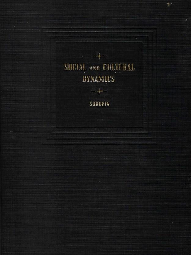 cover - Social and Cultural Dynamics