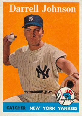 Darrell Johnson - baseball card