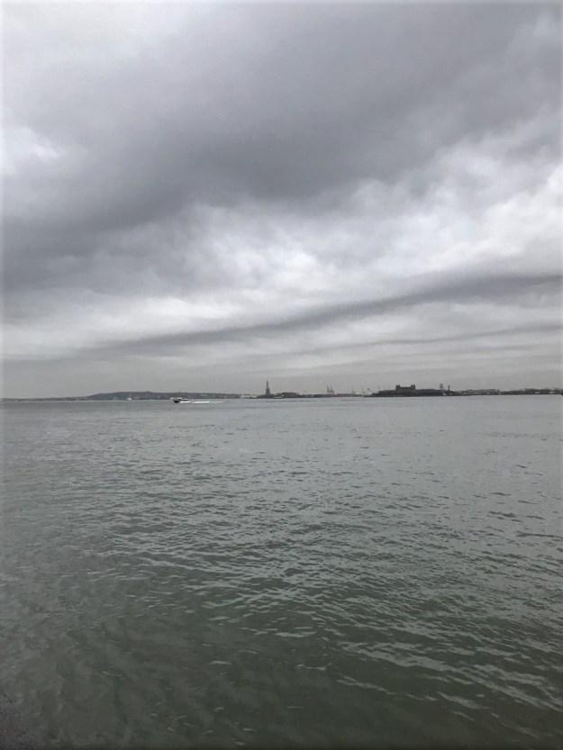 New York Harbor 6-39 a.m. 4-12-2019