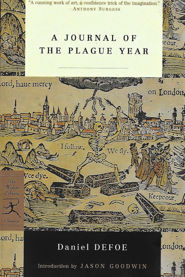 cover, Modern Library Journal of the Plague Year