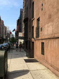 early Manhattan light, East Side, July 2016