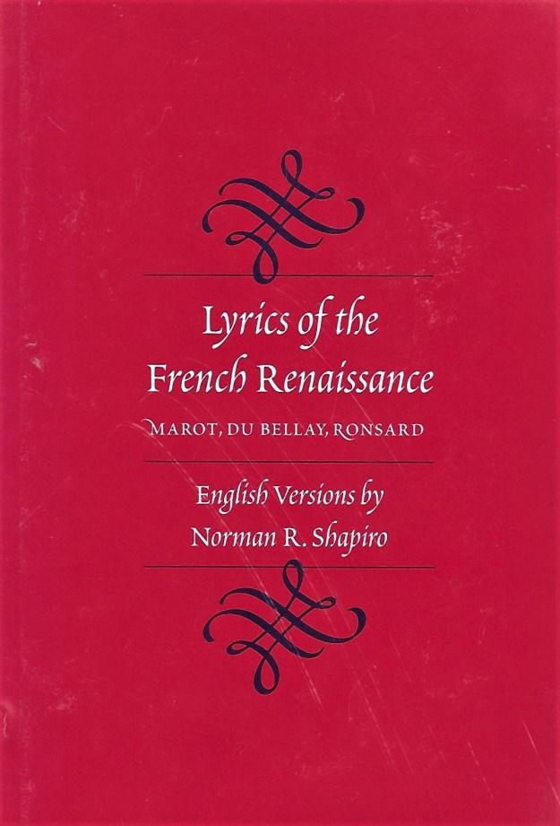 """Comme On Voit Sur La Branche Au Mois De Mai La Rose : comme, branche, Ronsard, """"Comme, Branche, Rose"""", Roger's, Gleanings"""