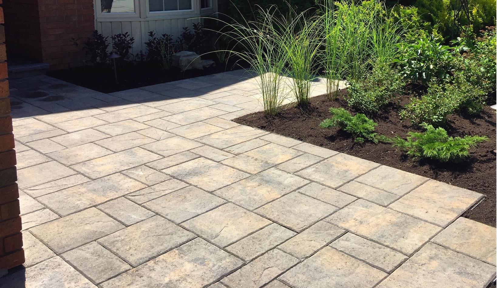Patio Stone  Walkway Interlocking in Burlington Quality