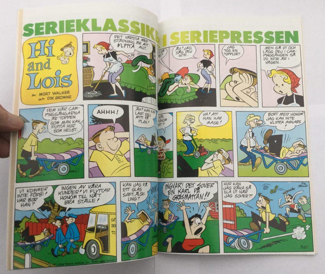 Hi and Lois i Seriepressen nr 6, 1993