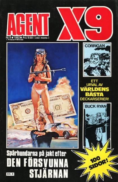 Corrigan i Agent X-9 i nr 8, 1982