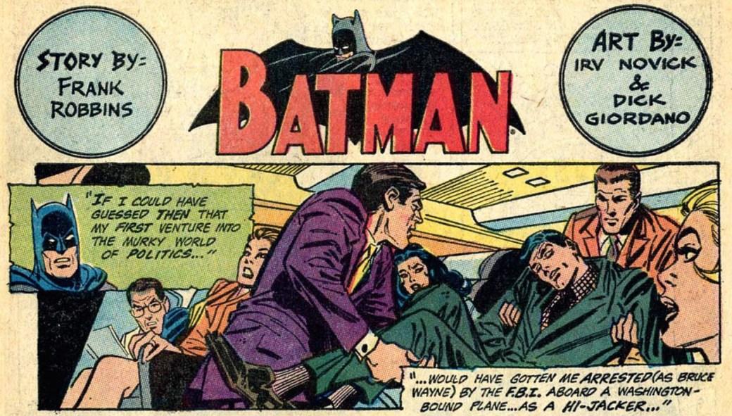 Robbins skrev manus för bl.a. Batman