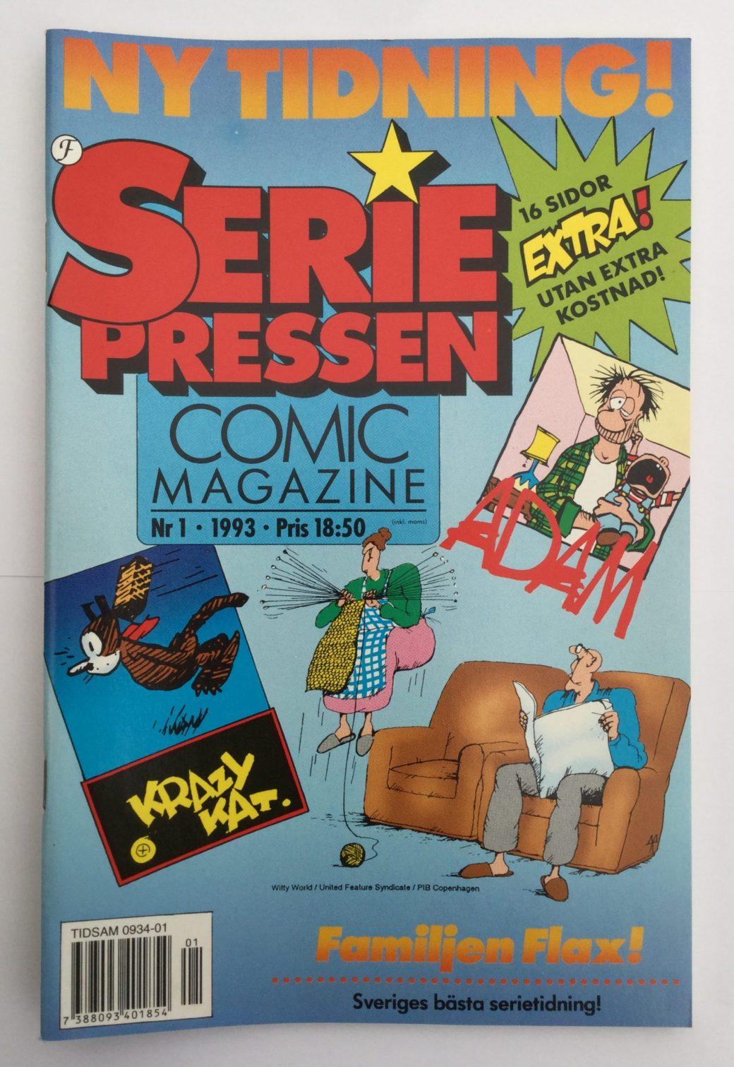 Seriepressen nr 1, 1993
