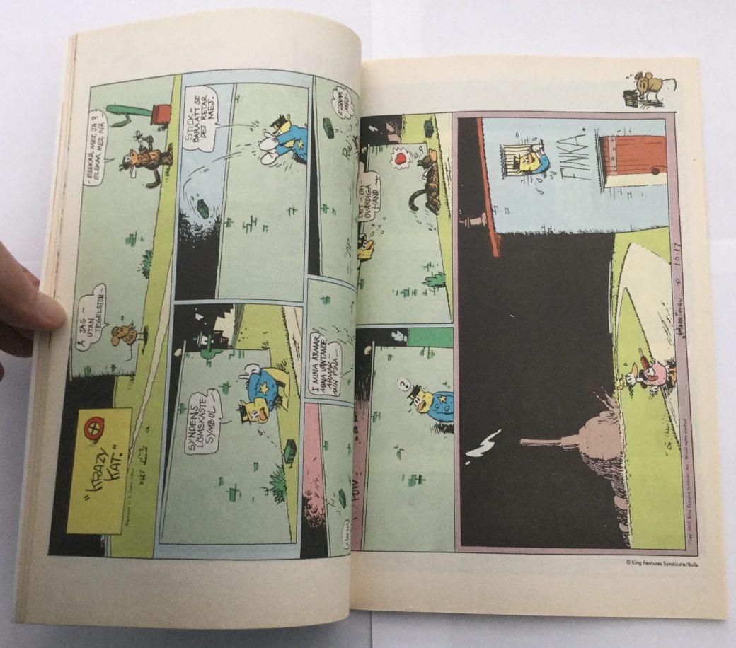 Krazy Kat i Seriepressen nr 1, 1993