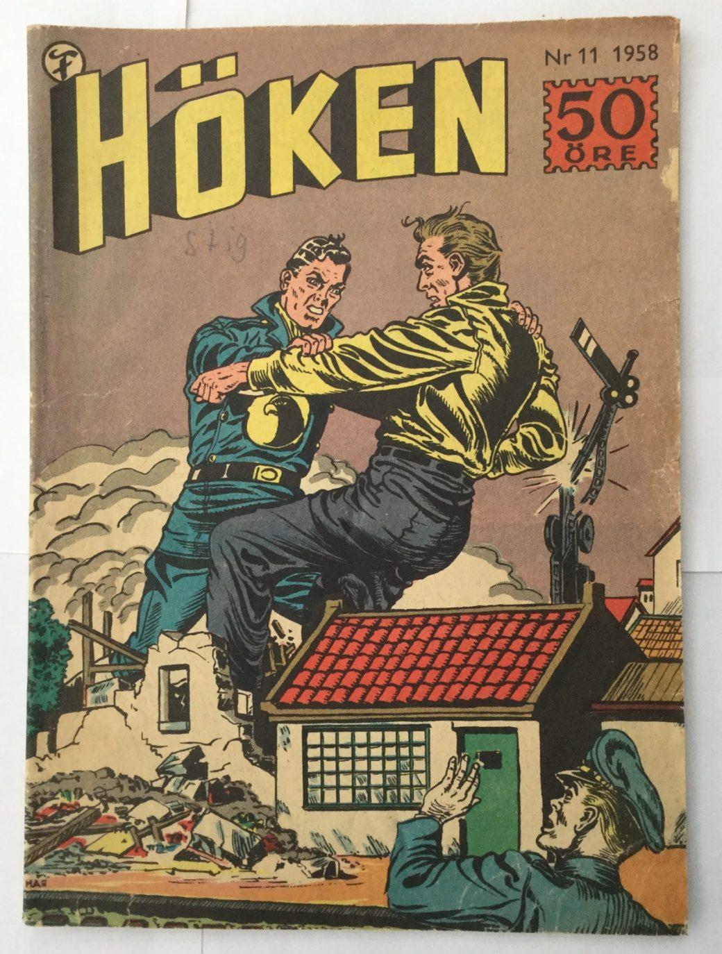 Höken nr 11, 1958