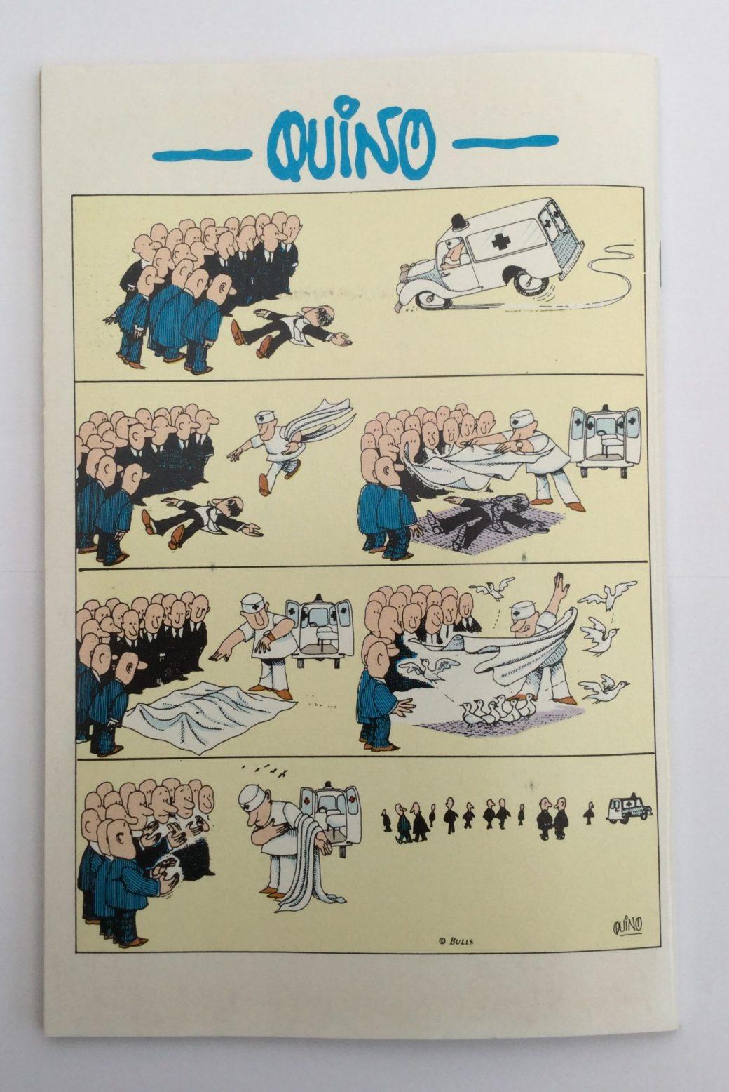 Quino i Seriepressen nr 1, 1993
