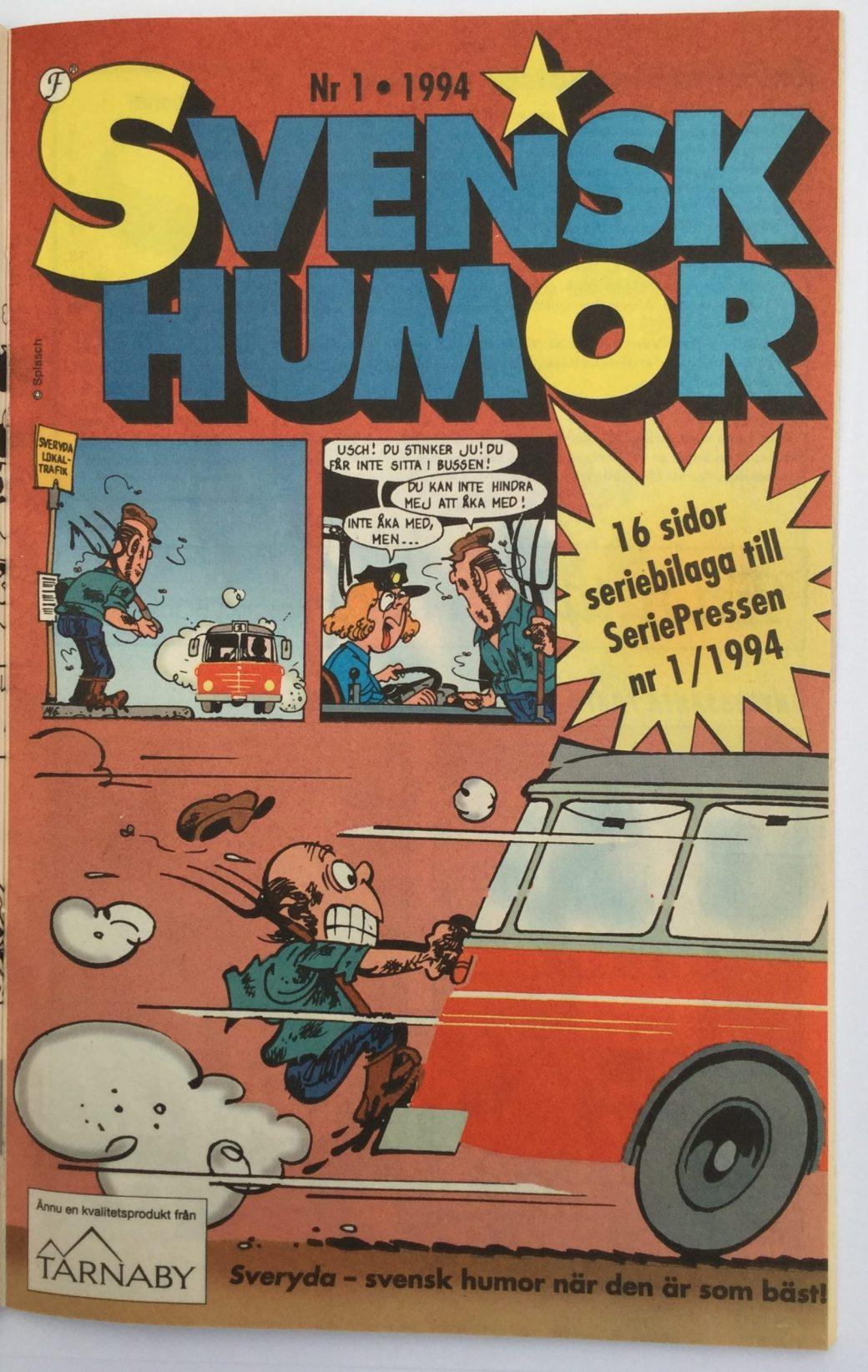 Svensk humor i Seriepressen nr 1, 1994
