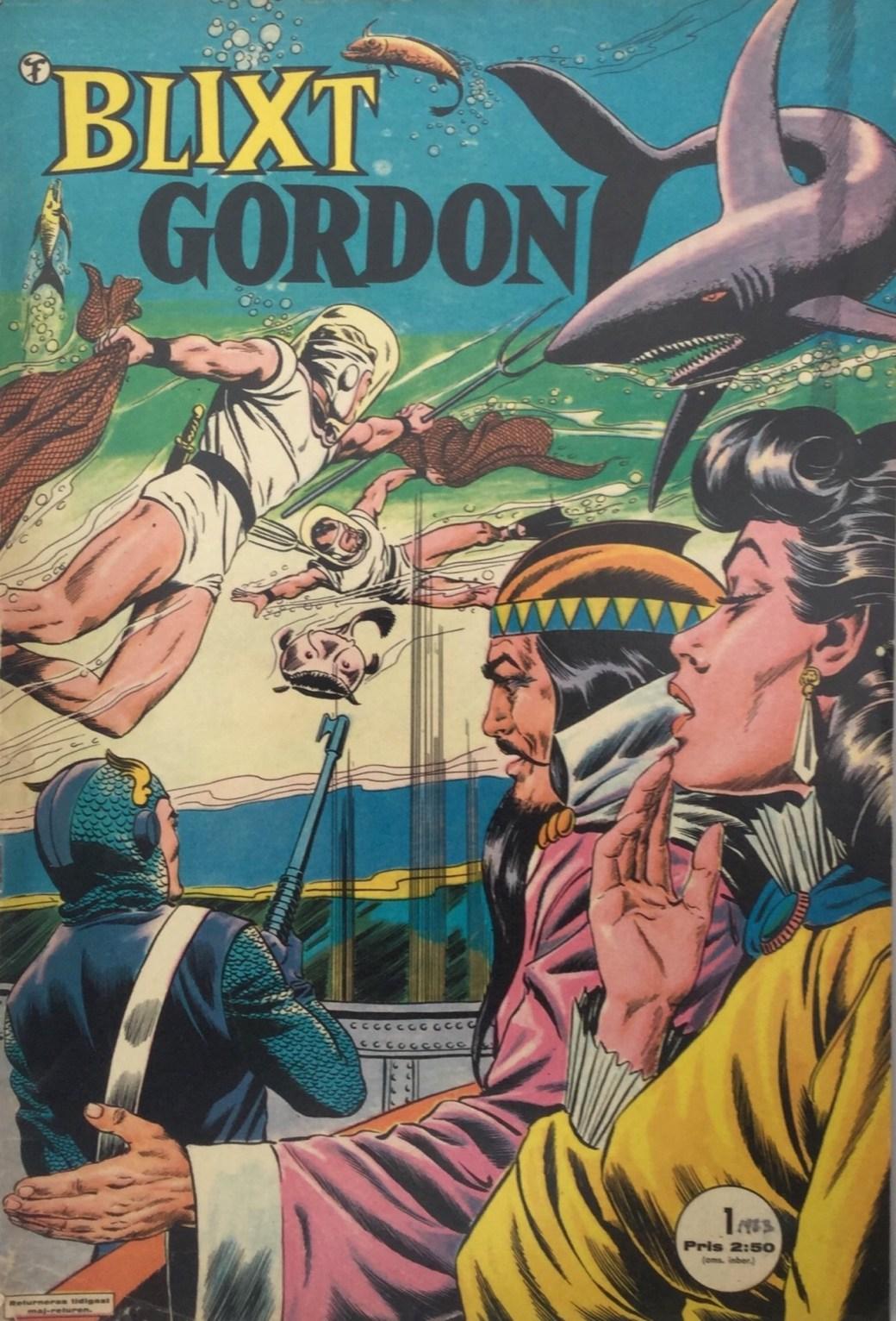 Blixt Gordon nr 1, 1963