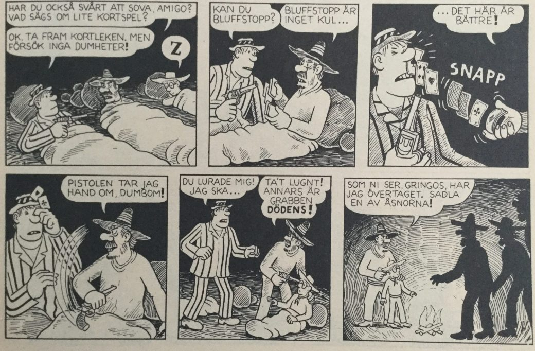 Felix i vilda västern av Carlsen Comics