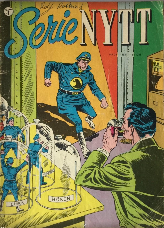 SerieNytt nr 24, 1959