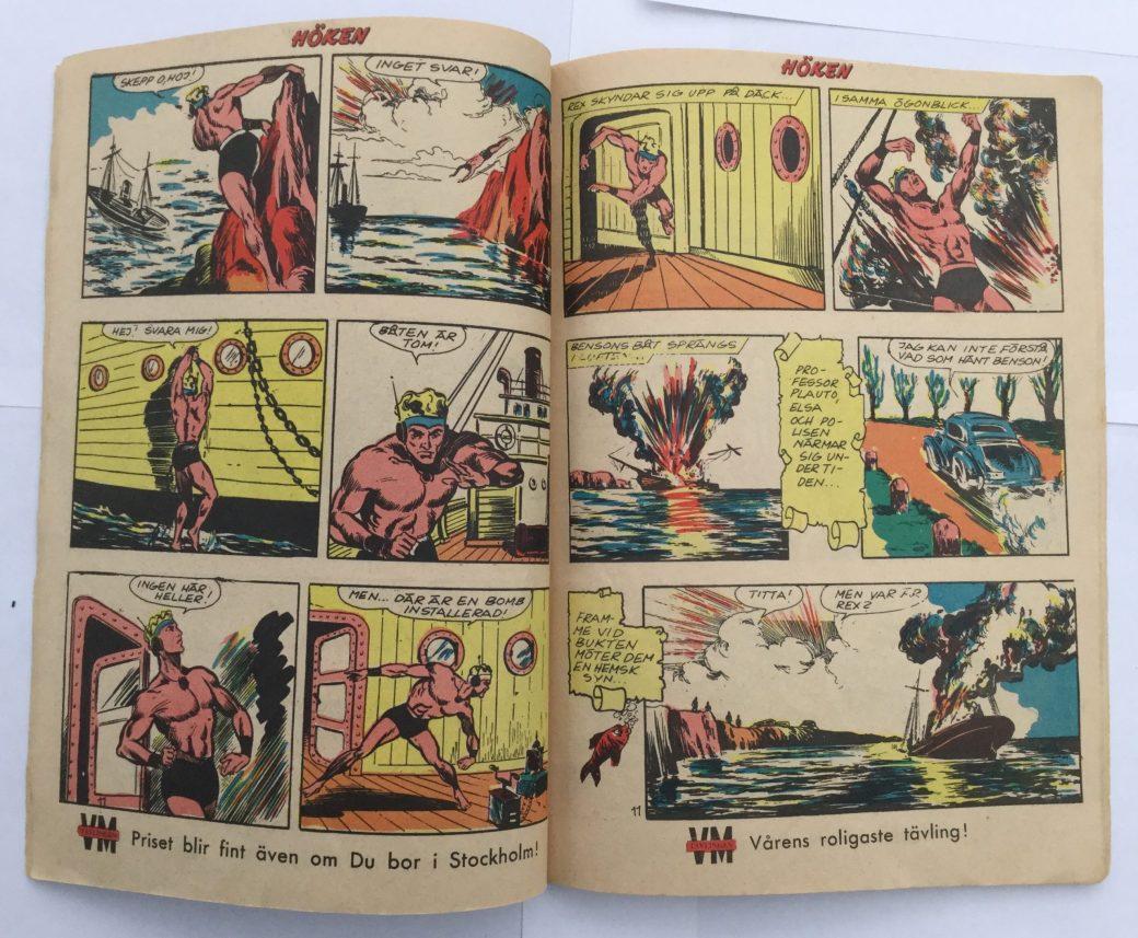 Rex, havers fantom ur Höken nr 11, 1958