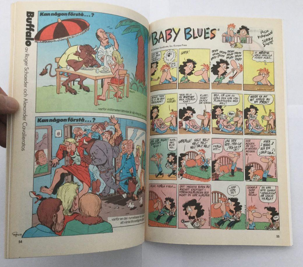 Baby Blues i Seriepressen nr 6, 1993