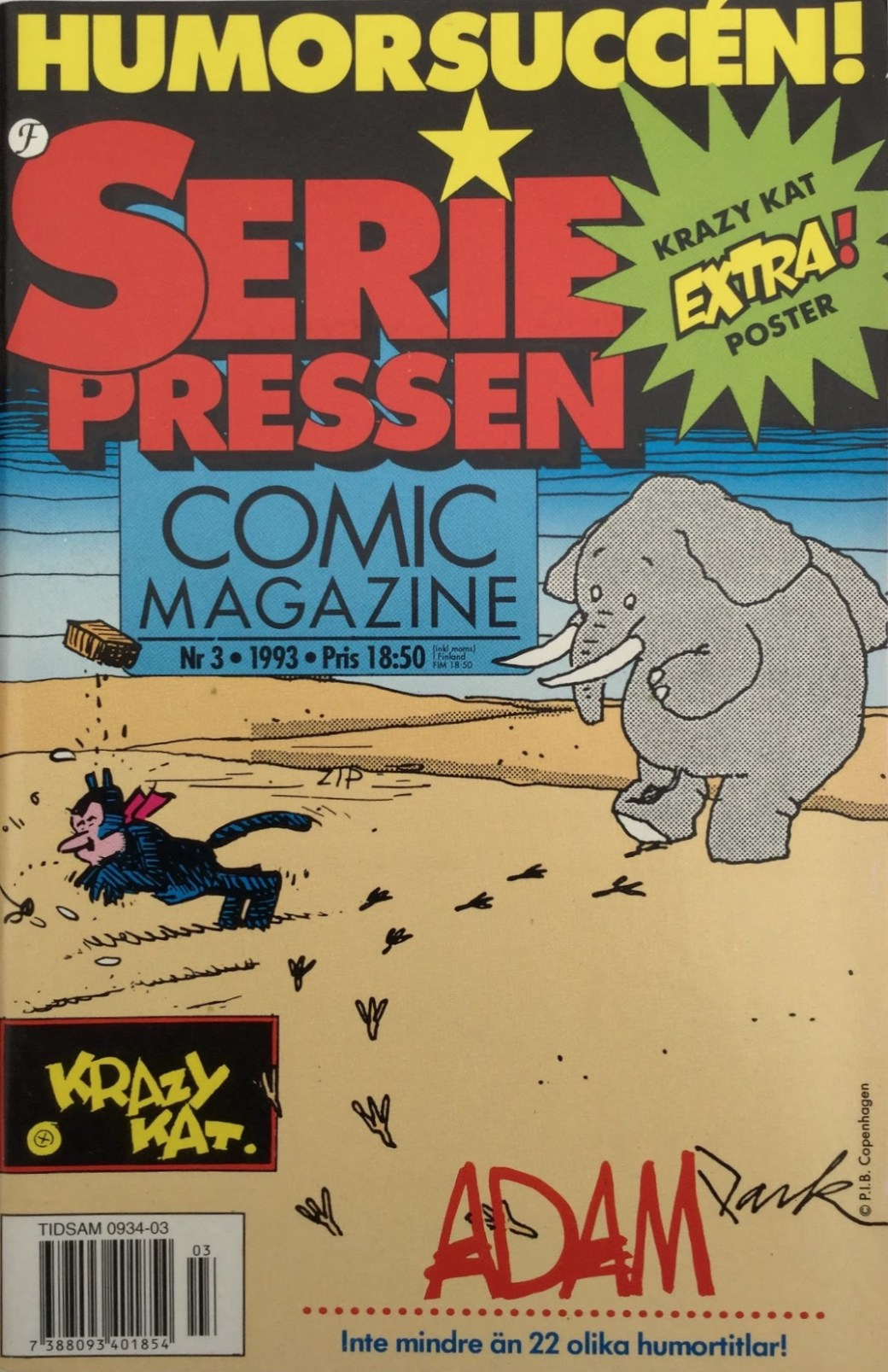SeriePressen nr3, 1993 från Formatic Press 1993-94