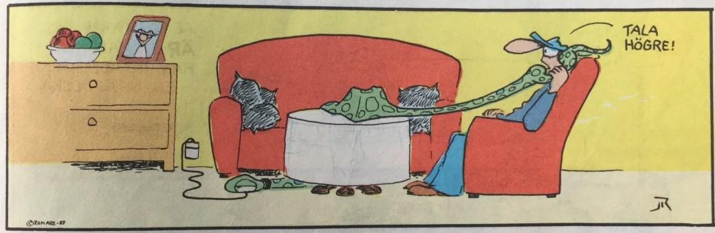 Pyton har en förkärlek för att äta, och det kan gälla nästan allt. ©Jan Romare