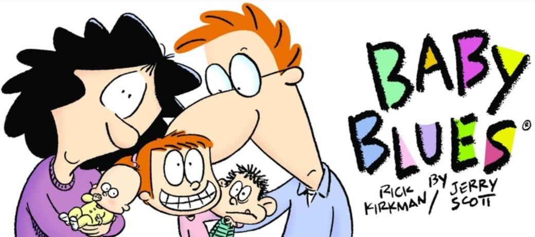Baby Blues tecknas av Rick Kirkman