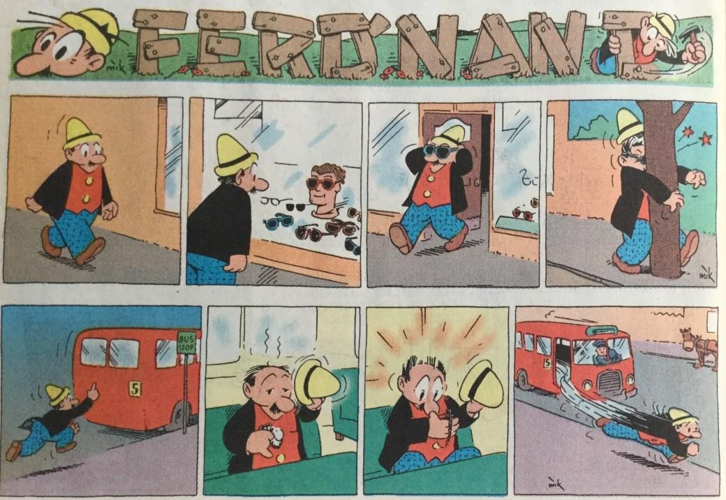 Ferd'nand ur SeriePressen nr 10, 1993