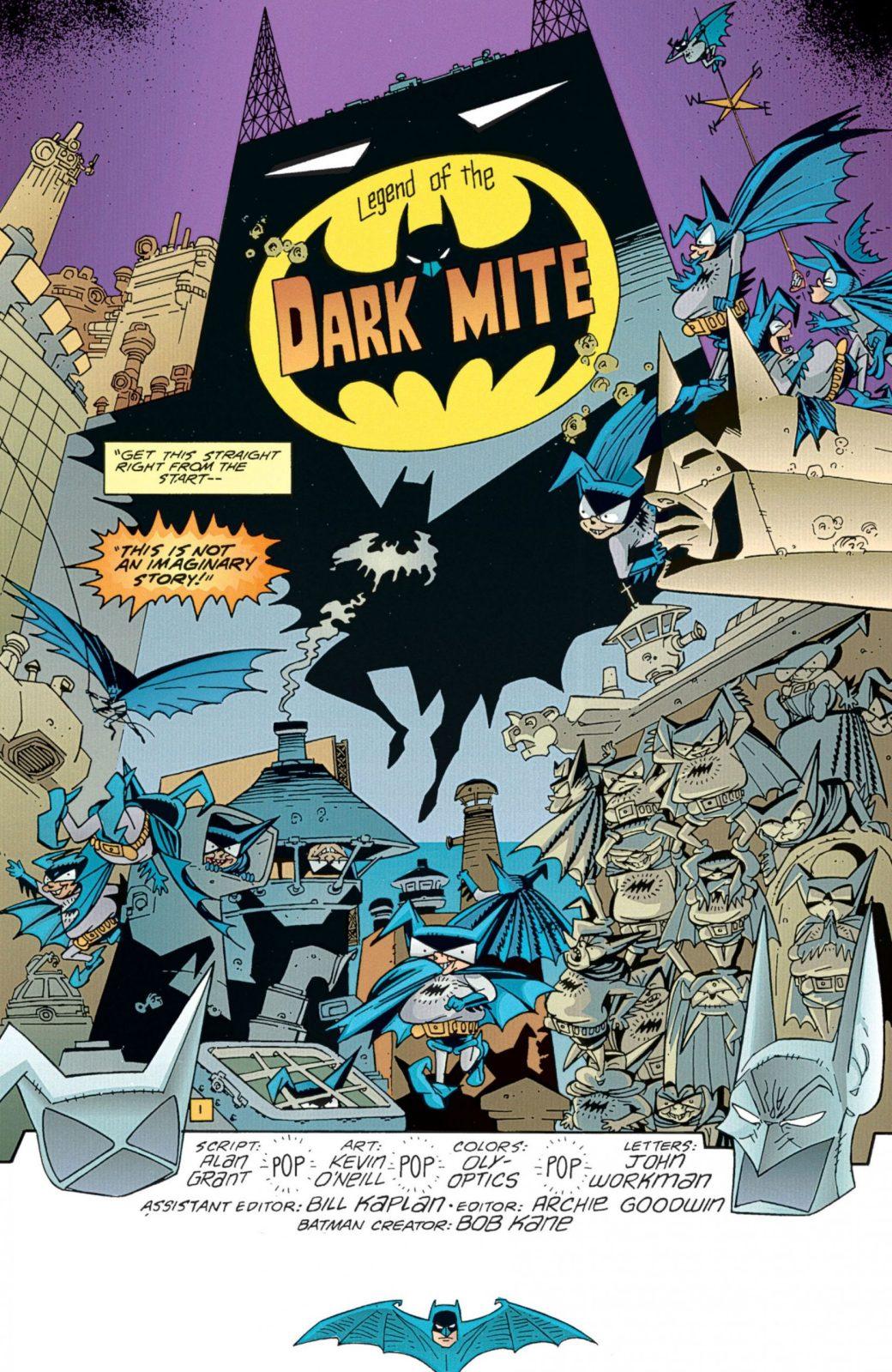 Batman av Goodwin, editor, Alan Grant, writer, och Kevin O'Neill, bild