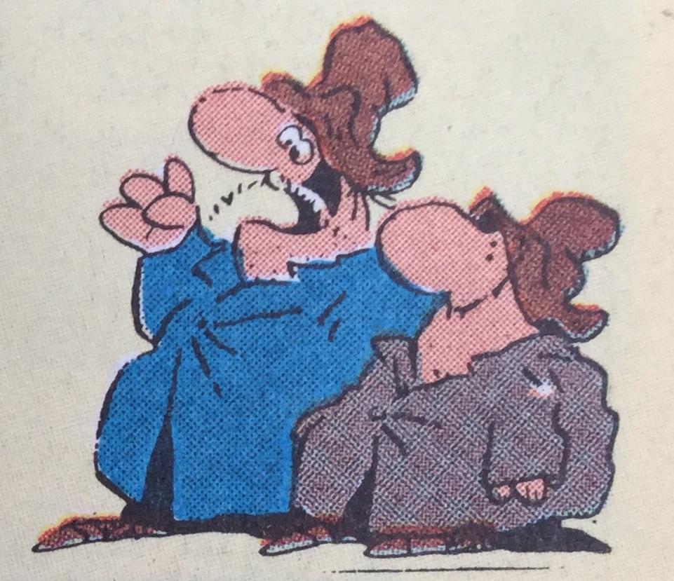 Per och Pål ur SeriePressen nr 3, 1993