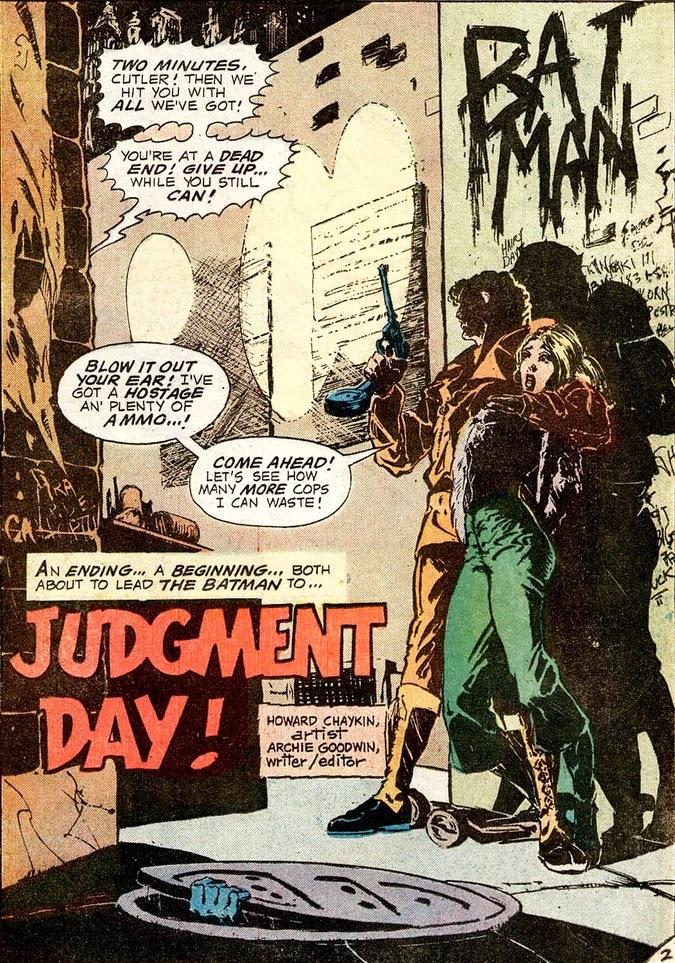 Batman av Goodwin, editor/writer och Howard Chaykin, bild