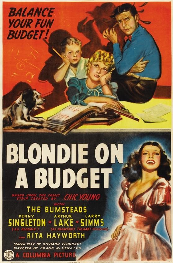 Filmen Blondie on a budget