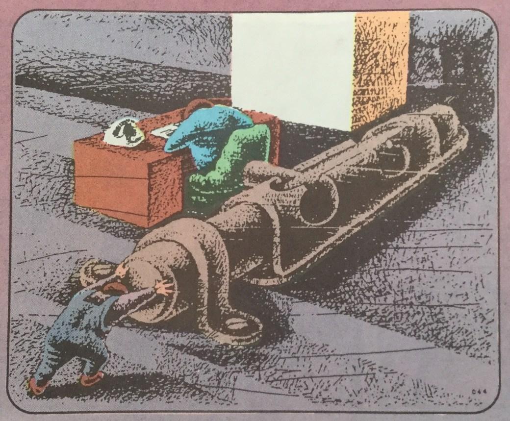 Druzhinin ur Carrousel från SeriePressen nr 6, 1993