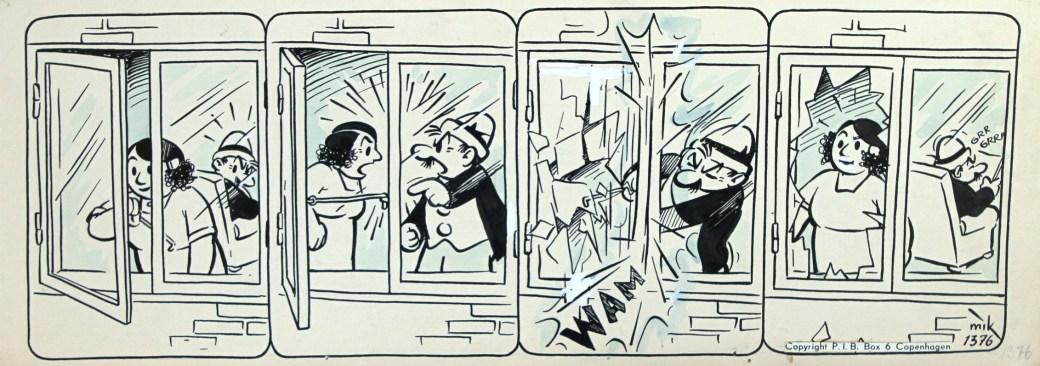 Original med serien Ferd'nand, som är lätt att känna igen i sin svarta kavaj och i sin speciella hatt. ©PIB