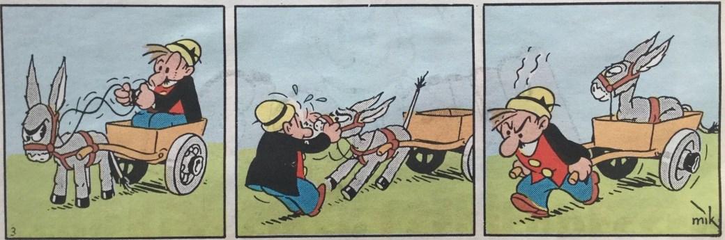 Den tredje strippen med serien Ferd'nand. ©PIB