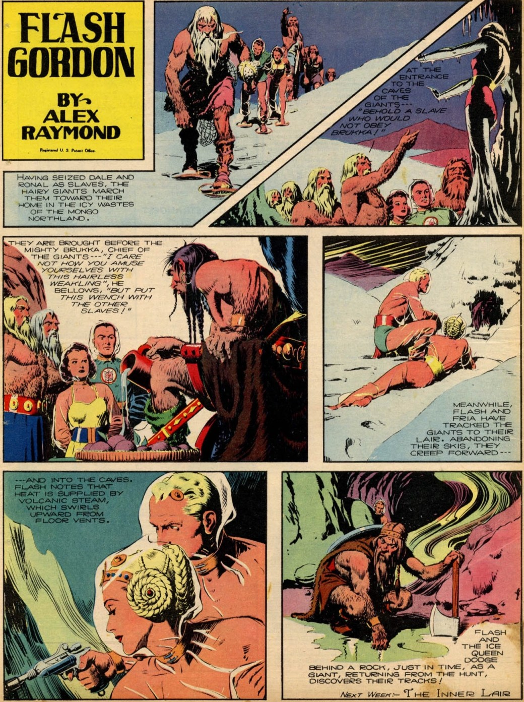 Flash Gordon av Alex Raymond från 28 maj 1939