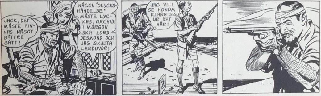 En stripp från 5 oktober 1962 ur Comics nr 2