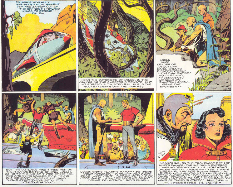 Flash Gordon från 14 april 1940
