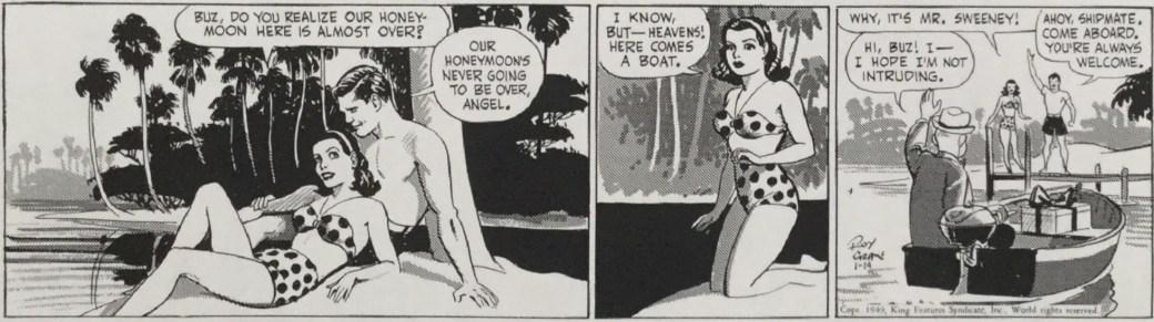 Originalstripp från 14 januari, 1949
