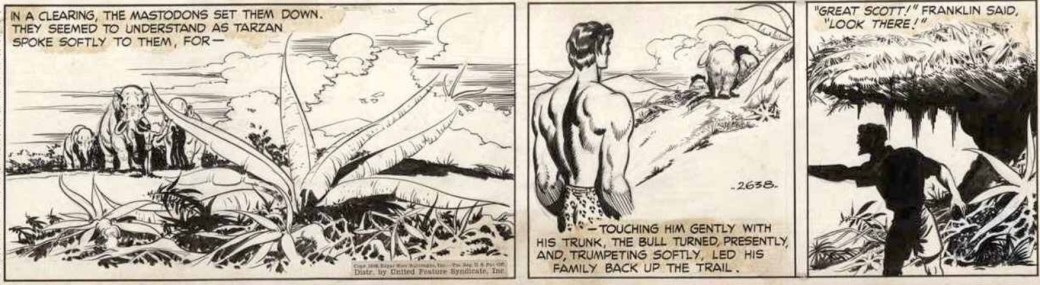 En dagsstripp av Barry från 1948