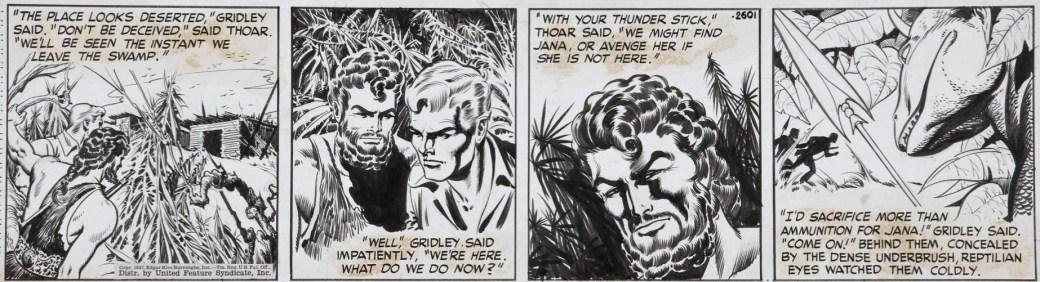 En dagsstripp av Barry från 1947