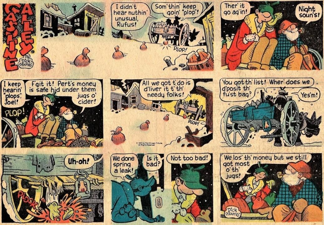 Söndagssida från 18 december 1977