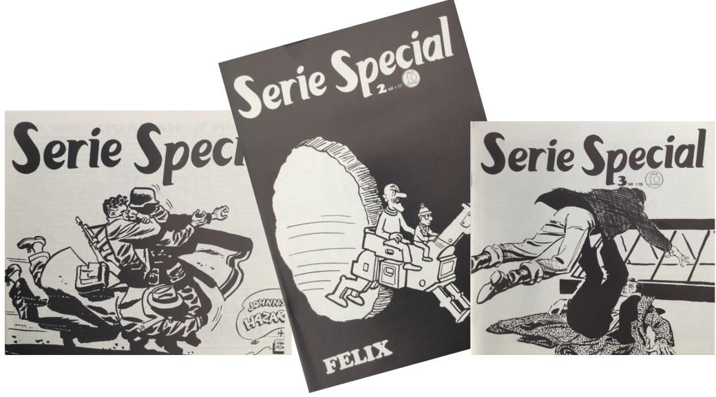 Serietidningen SerieSpecial gavs ut 1976-78