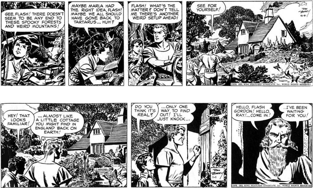 Flash Gordon 31 december 1952 - 1 januari 1953