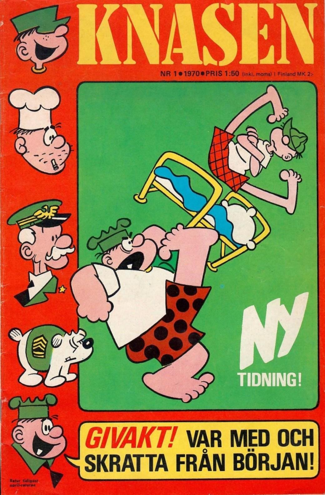 Premiärnumret 1970