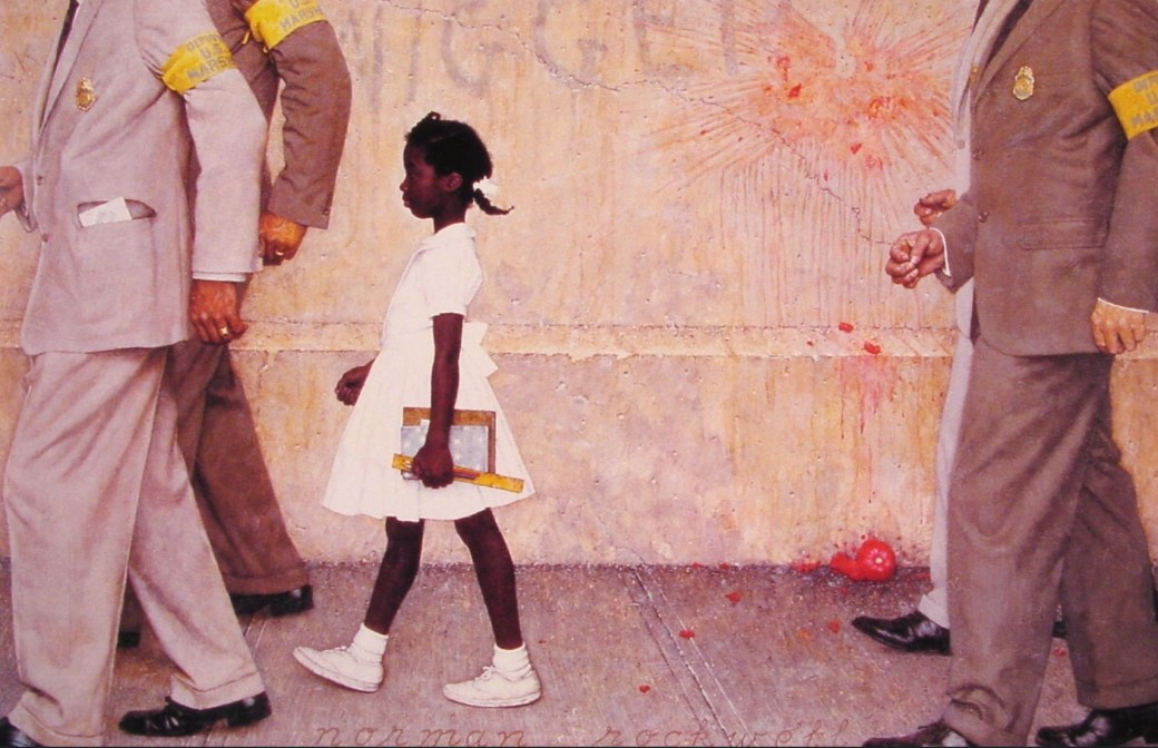 The Problem We All Live With av Norman Rockwell