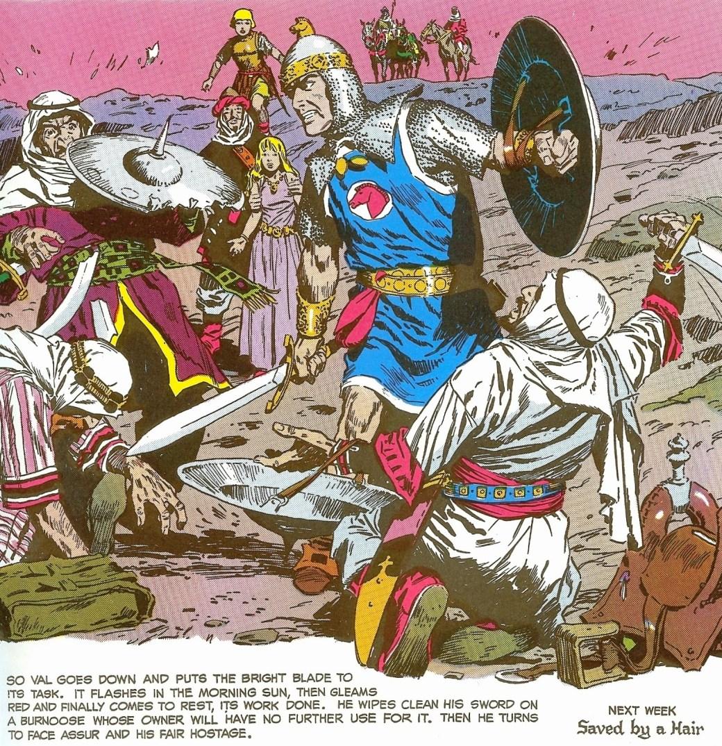 En ruta ur Prince Valiant från 13 november 1977