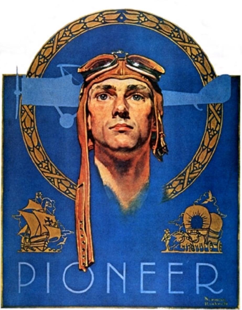 Pioneer av Norman Rockwell