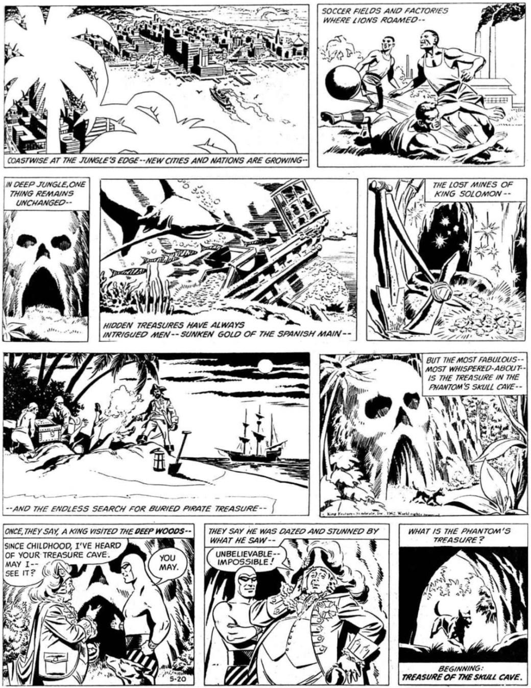Barrys första söndagsepisod började publiceras 20 maj 1962