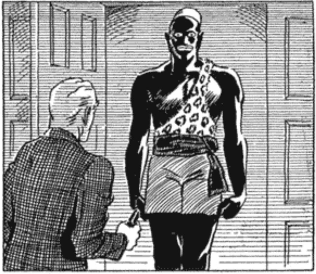 Redan den 14 juni 1934 visade sig Lothar för första gången i Mandrake-serien