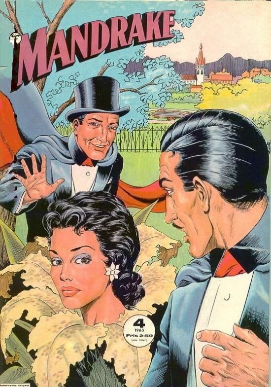 Mandrake (Formatic) nr 4, 1963