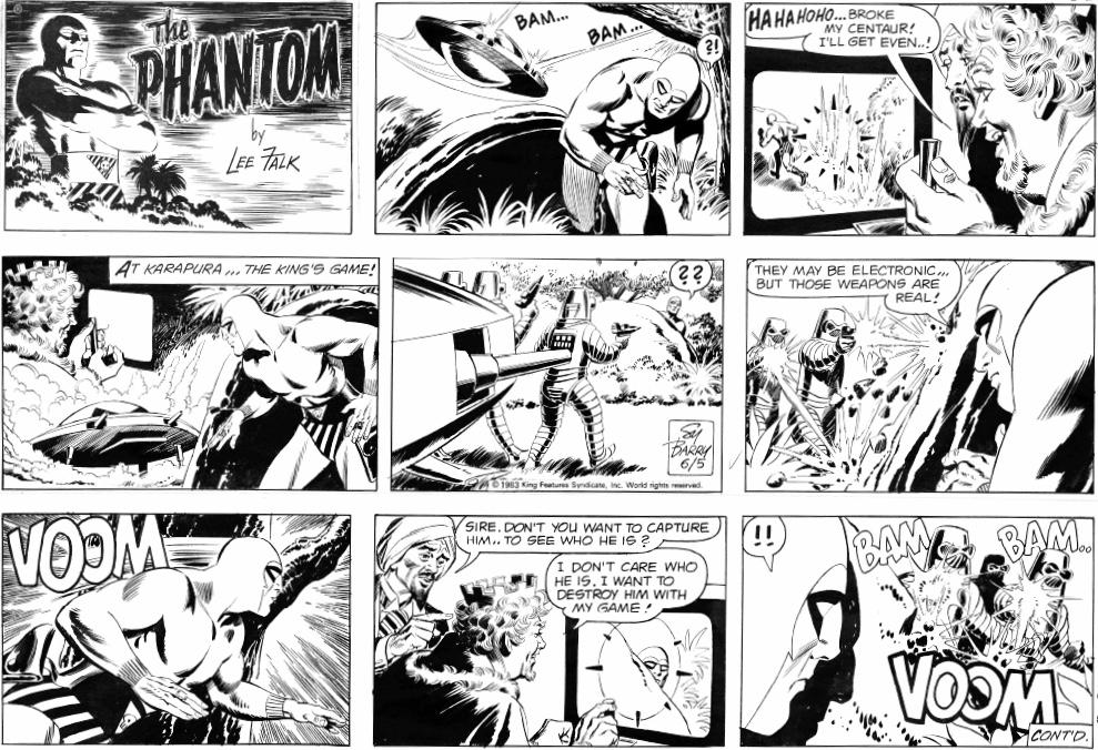 En söndagssida från 5 juni 1983