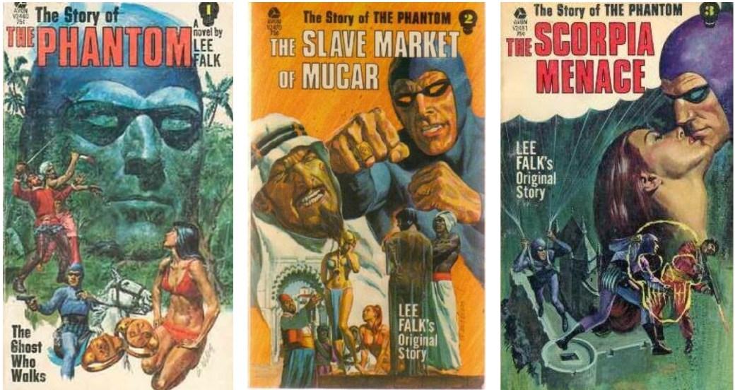Lee Falk skrev även Fantomen-romaner