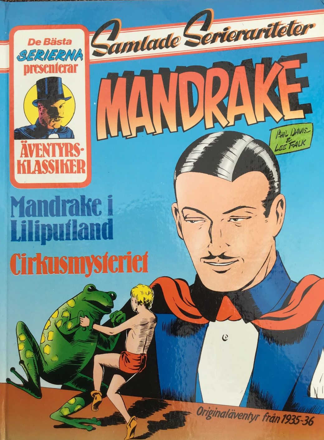 Mandrake (Samlade serierariteter) 1934-36